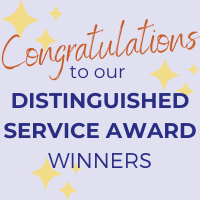 Congratulations to Our Distinguished Service Award Winners